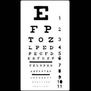 Eye Chart | Routine Eye Exams | Comprehensive Eye Exams