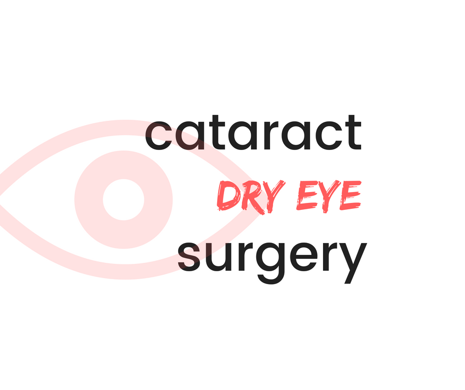Cataract Surgery and Dry Eye | Burlington County Eye Physicians