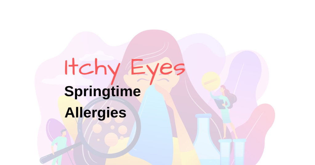 Seasonal allergies how to prevent itchy eyes