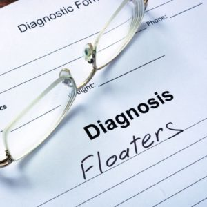 Text insert for Floaters | The Eye Professionals