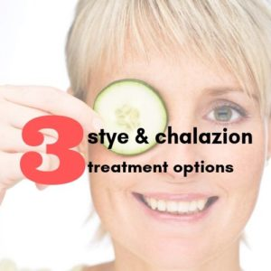 Treatment options for Stye and Chalazia | The Eye Porfessionals