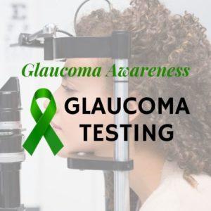 Glaucoma Testing Text Image