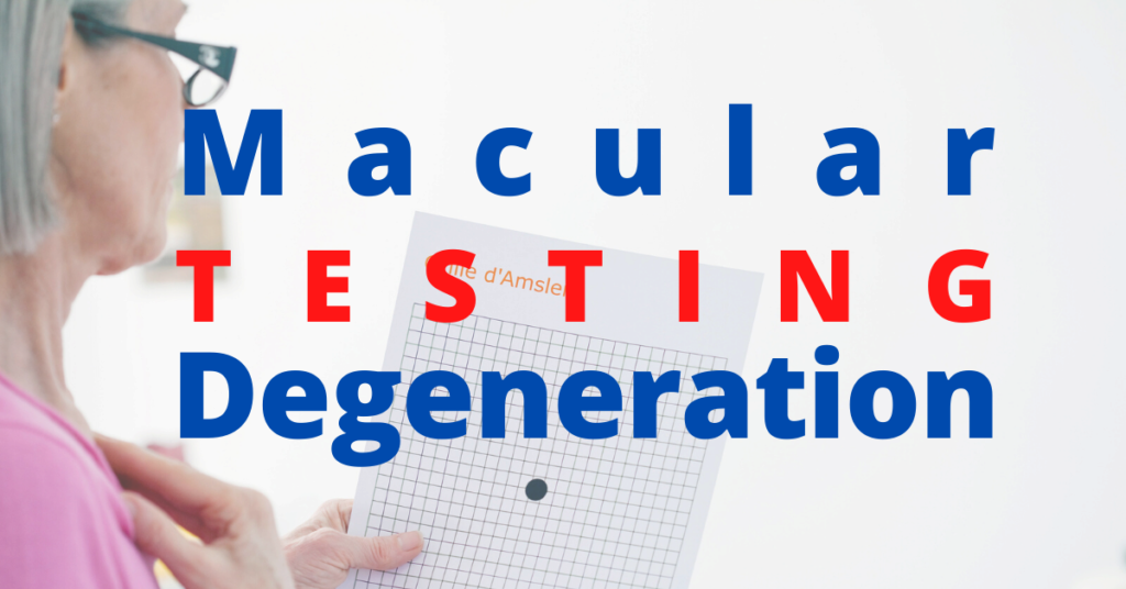 Featured Image | Macular Degeneration Testing