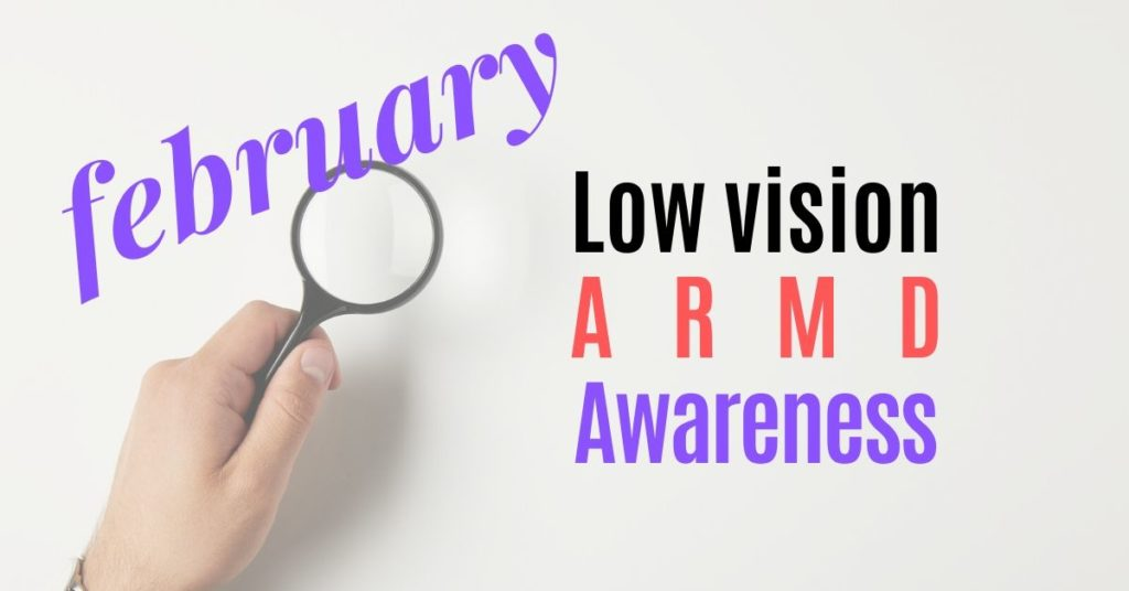 Featured Image February Low Vision Month