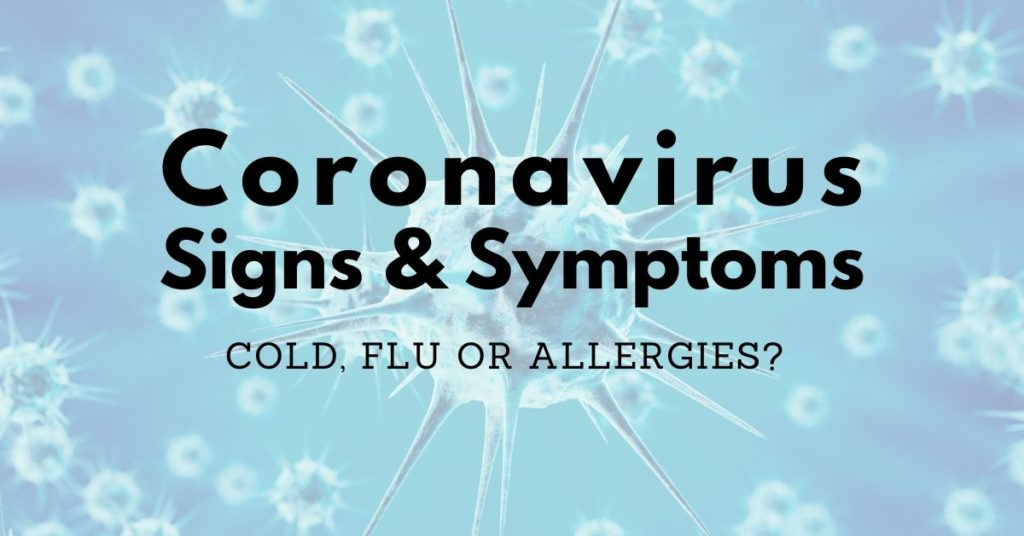 Featured Image Coronavirus Signs and Symptoms