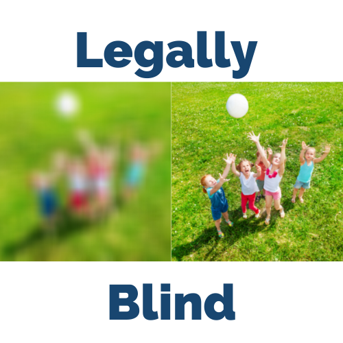 Image for Text Article   What is Legal Blindness?