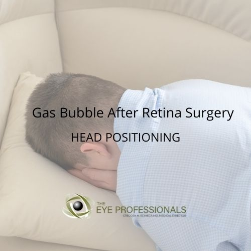 Gas Used in Retina Surgery